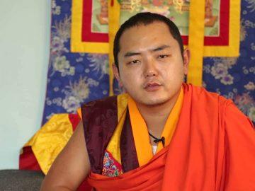 Kyabje Khamtrul Rinpoche Jigme Pema Nyinjadh